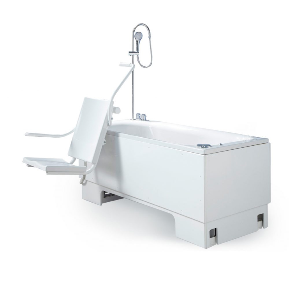 Excel 600 Height Adjustable Bath With Powered Swing Seat